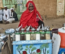 'Mama' - she had the nicest 'Shai' (tea) stand I saw in Sudan