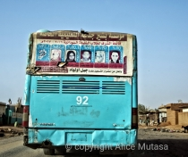 In Sudan the names and pictures of the highest scoring students are published on buses.....