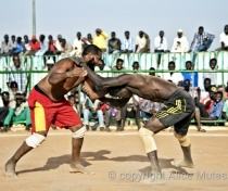 Traditional Nuba wrestling, Omdurman