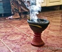 'Bakhoor' - special Sudanese incense....