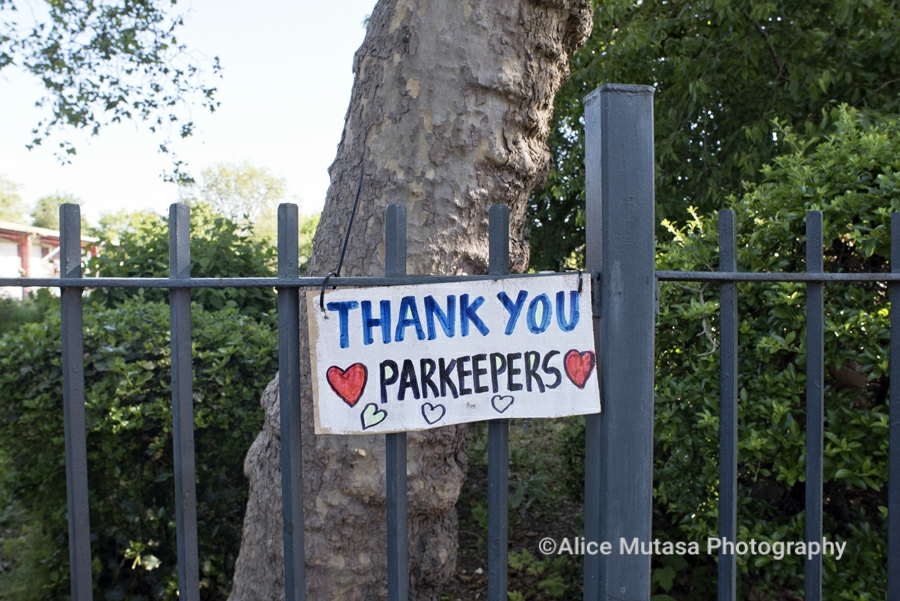 Thank you Parkeepers