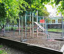 Locked down playground - Downhills Park