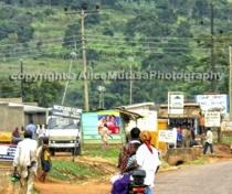 Mbarara-Masaka road