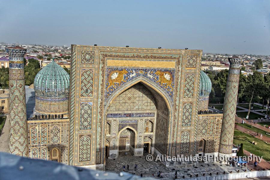 Sher Dor Madrassa, Registan, Samarqand