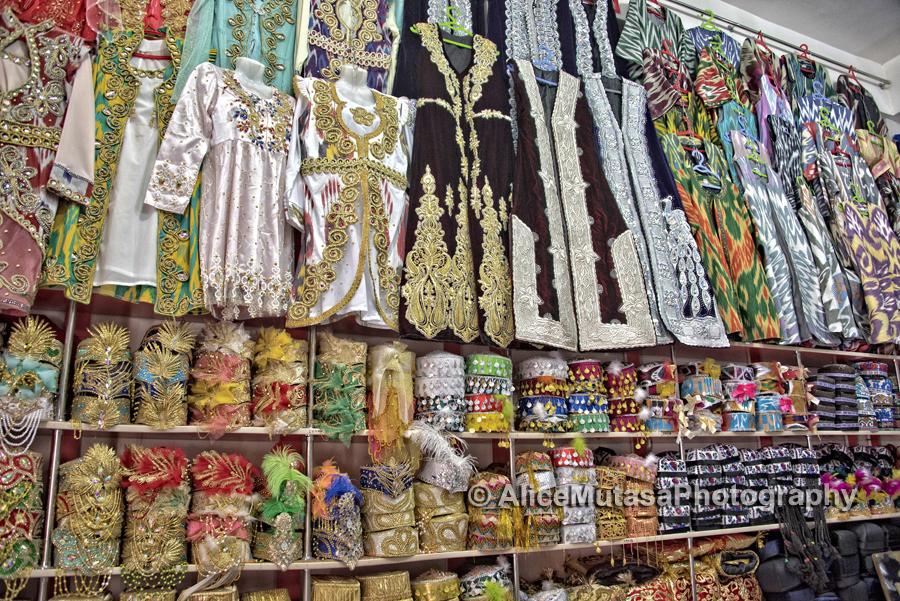 Velvet and bling, Samarqand...