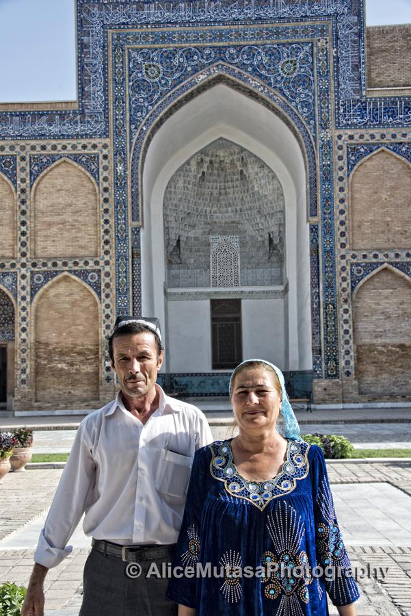 Saydowa and Mariam, Amir Temur Mausoleum