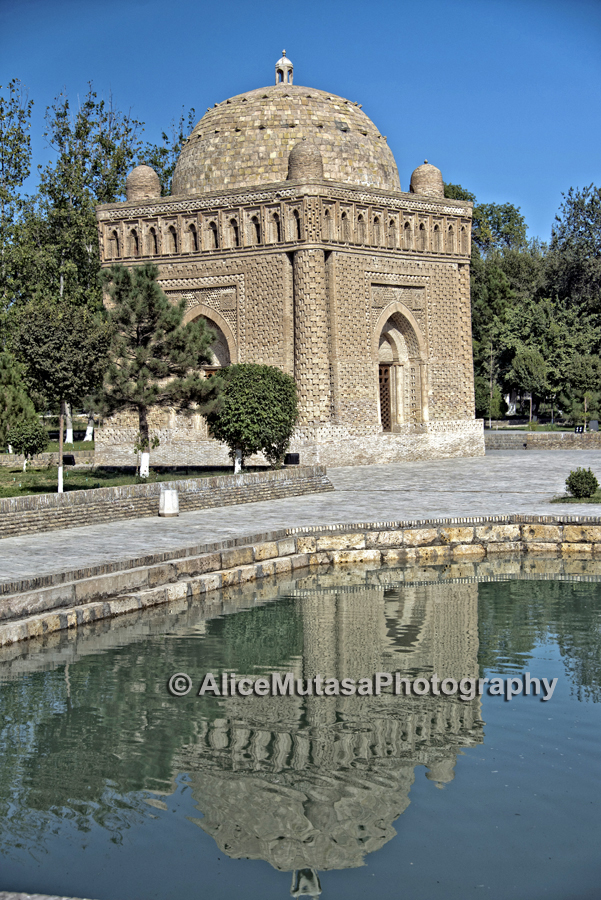 Ismail Samani Mausoleum; the oldest islamic monument in Bukhara