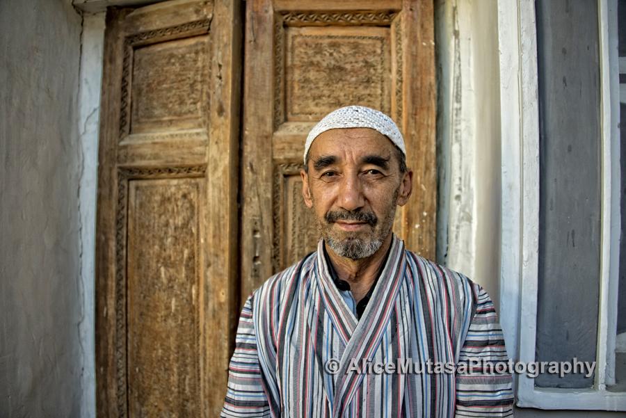 Rustan; caretaker of the Bukharian Museum of Jewish History