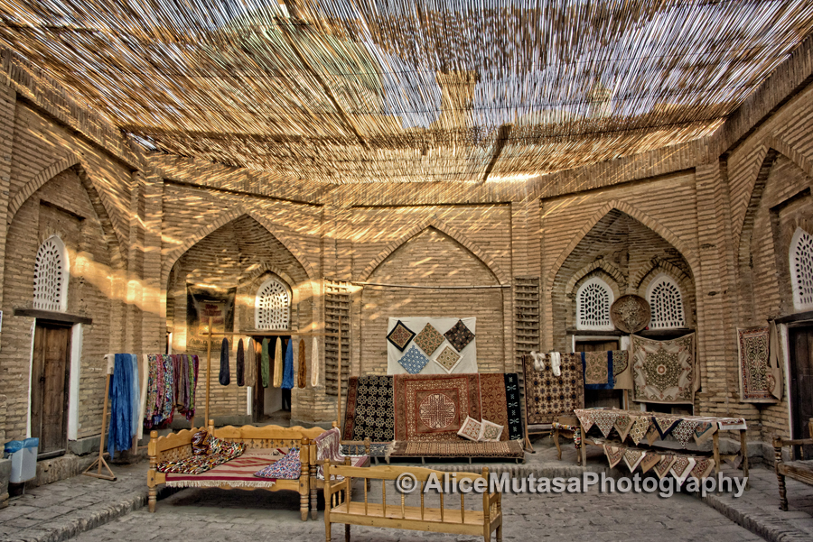 'Khiva Silk Carpet Workshop'