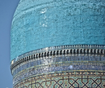 One of the domes of the Bibi Khanym Mausoleum, Samarqand