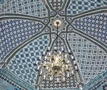 Mausoleum interior, Shah-i Zinda