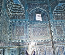 Mausoleum of the Prophet Mohamed's cousin, in the Shah-i Zinda