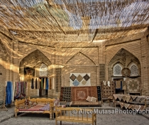 'Khiva Silk Carpet Workshop'