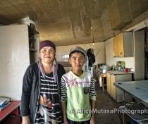 Dana and Mirket; Aidar Yurt Camp