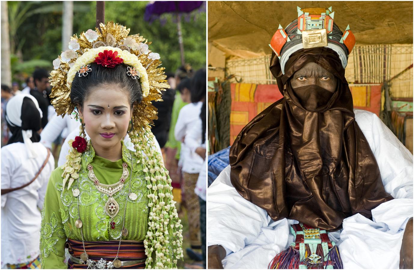 1_Balinese bride_Touareg elder
