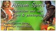 'AFRICAN SPIRIT' EXHIBITION – BETHNAL GREEN