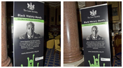 Exhibitions: 'Black History Month' & ILFA gala dinner